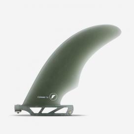 "Dérive longboard - Cutaway Fiberglass Smoke 7"", FUTURES."