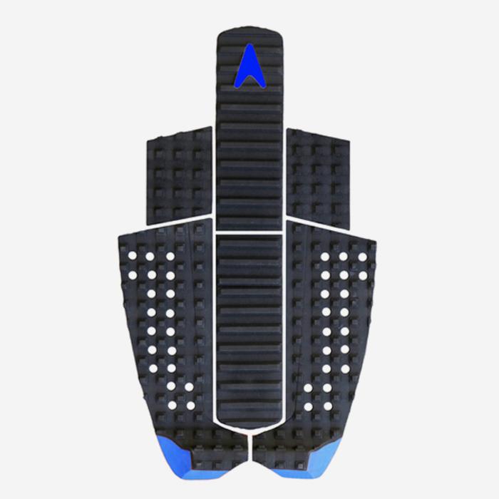 Astrodeck Greyson Fletcher Extended long, split, arch bar, 6 pieces pad - Black & blue