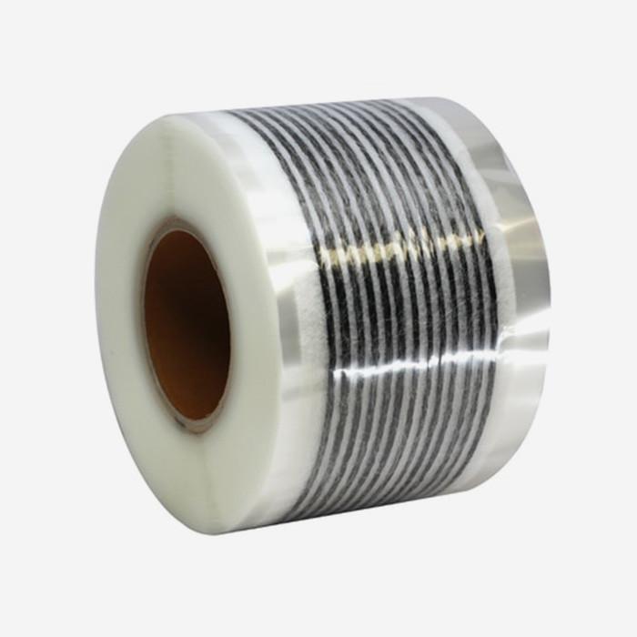 Web fused 13 strands 3K carbon, 62mm reinforcement tape