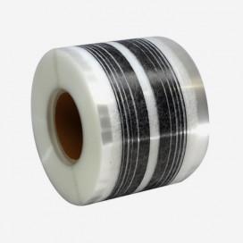 Web fused 10 strands 9mm gap 3K carbon, 67mm reinforcement tape
