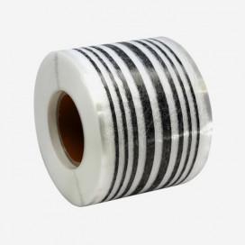 Web fused 8 strands 3K carbon, 83mm reinforcement tape