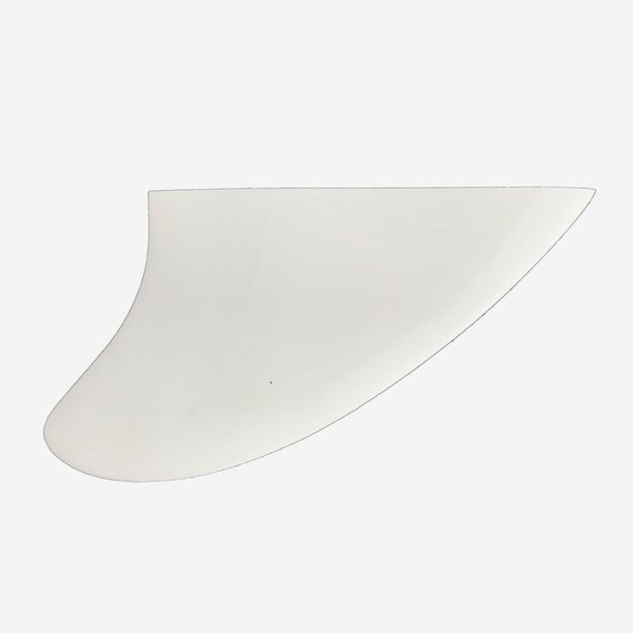 Dérives Twin / Keel à strater - Modèle KEEL - fiberglass blanc,  JUST