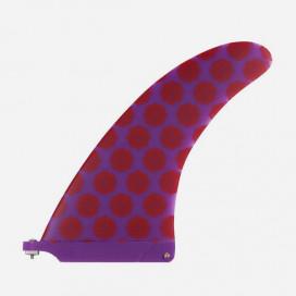"CAPTAIN FIN CO - Longboard Fin Josh Hall x T. Moeski 8.5"" Purple"