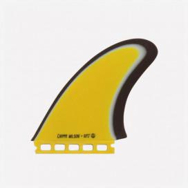 Captain Fin co. Twins Captain Fin co. Chippa Wilson Especial Fiberglass Yellow