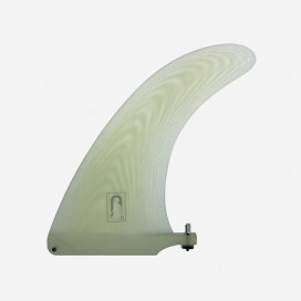 "Dérive single longboard 8.0"" - Fibre clear, VIRAL SURF"