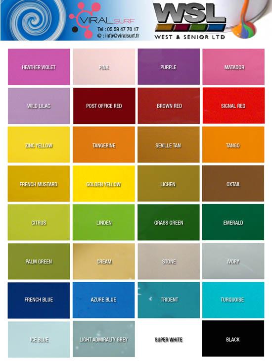 Nuancier de couleurs peinture gallery of couleur gris - Tarif tollens ...